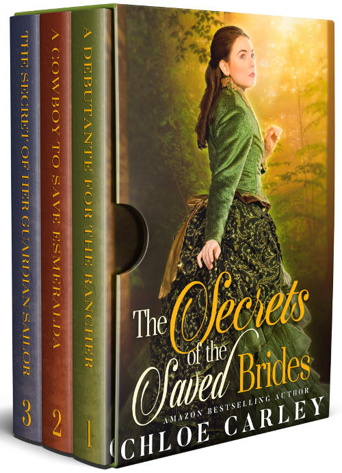 The Secrets of the Saved Brides, by Chloe Carley